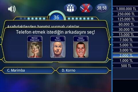 kim milyoner olmak ister oyunu indir türkçe