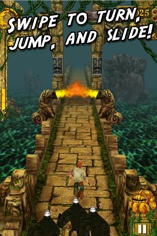 Temple Run – Ünlü iPhone Oyunu