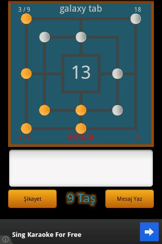 Dokuz Taş 2 – Android Oyunu