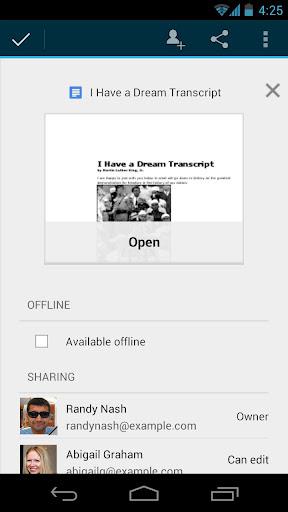 Google Drive – Android Uygulaması