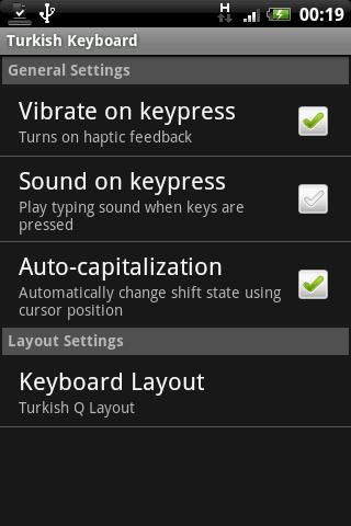 Türkçe Klavye – Android İçin Türkçe Klavye