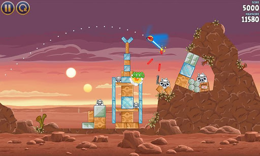 Angry Birds Star Wars – Android Oyunu