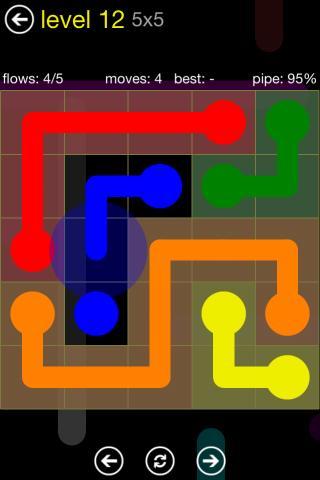 Flow Free – Renkli Çizgileri Birleştirin