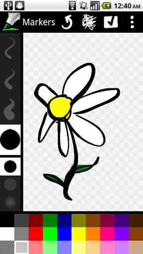 Markers – Basınç Duyarlı Çizim Uygulaması