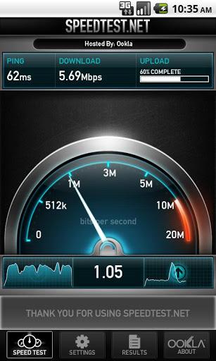 Speedtest – İnternet Bağlantı Hızını Test Edin