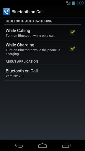 Bluetooth on Call – Otomatik Bluetooth Açma/Kapama