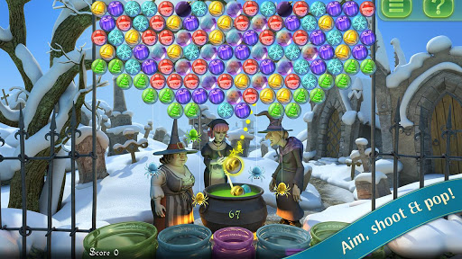 Bubble Witch Saga – Balonları Fırlat