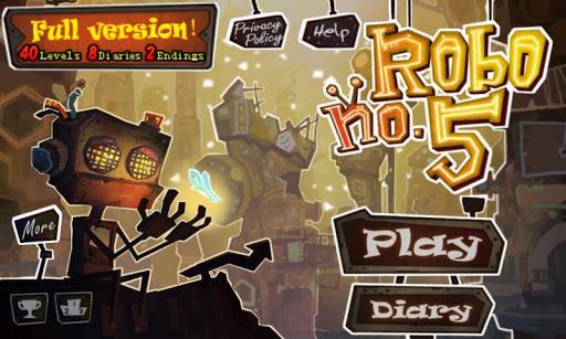 Robo5 – 3D Bulmaca ve İlerleme Oyunu