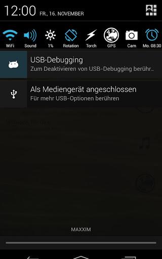 Notification Toggle – Uyarı Çubuğunda Özellik Düğmeleri