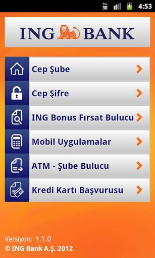 ING Bank – Mobil Bankacılık Android Uygulaması