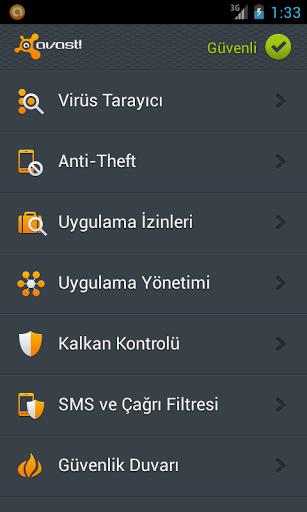Avast Antivirus – Ücretsiz Mobil Antivirüs Programı