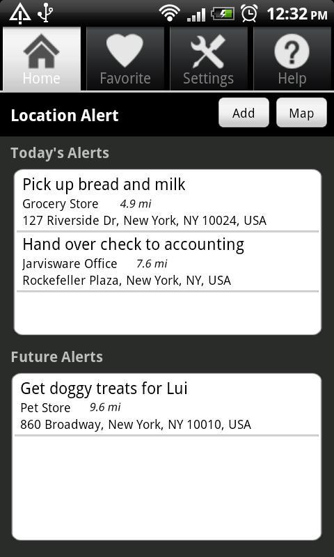 Location Alert – Konuma Göre Alarm Kurabilirsiniz