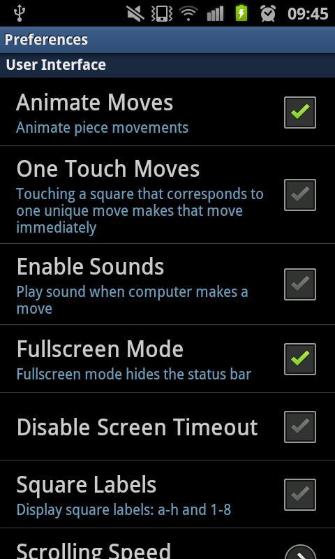 DroidFish Chess – Android Satranç Oyunu