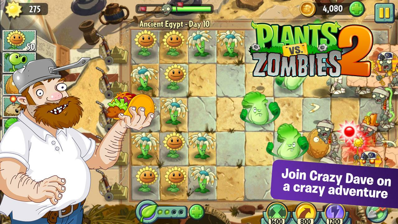 Plants vs zombies 2 çıktı – android oyununu ücretsiz indirin