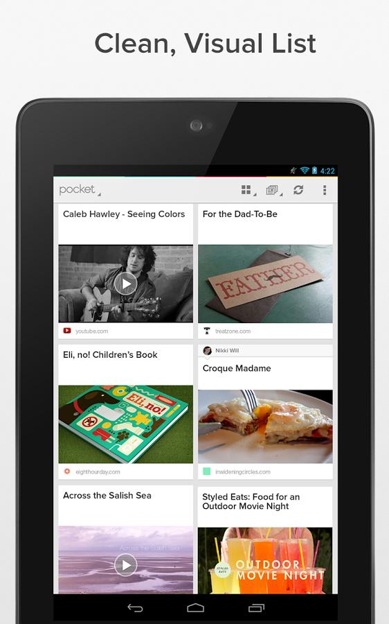 Pocket – İnternet Sayfalarını İnternet Olmadan Okuyun