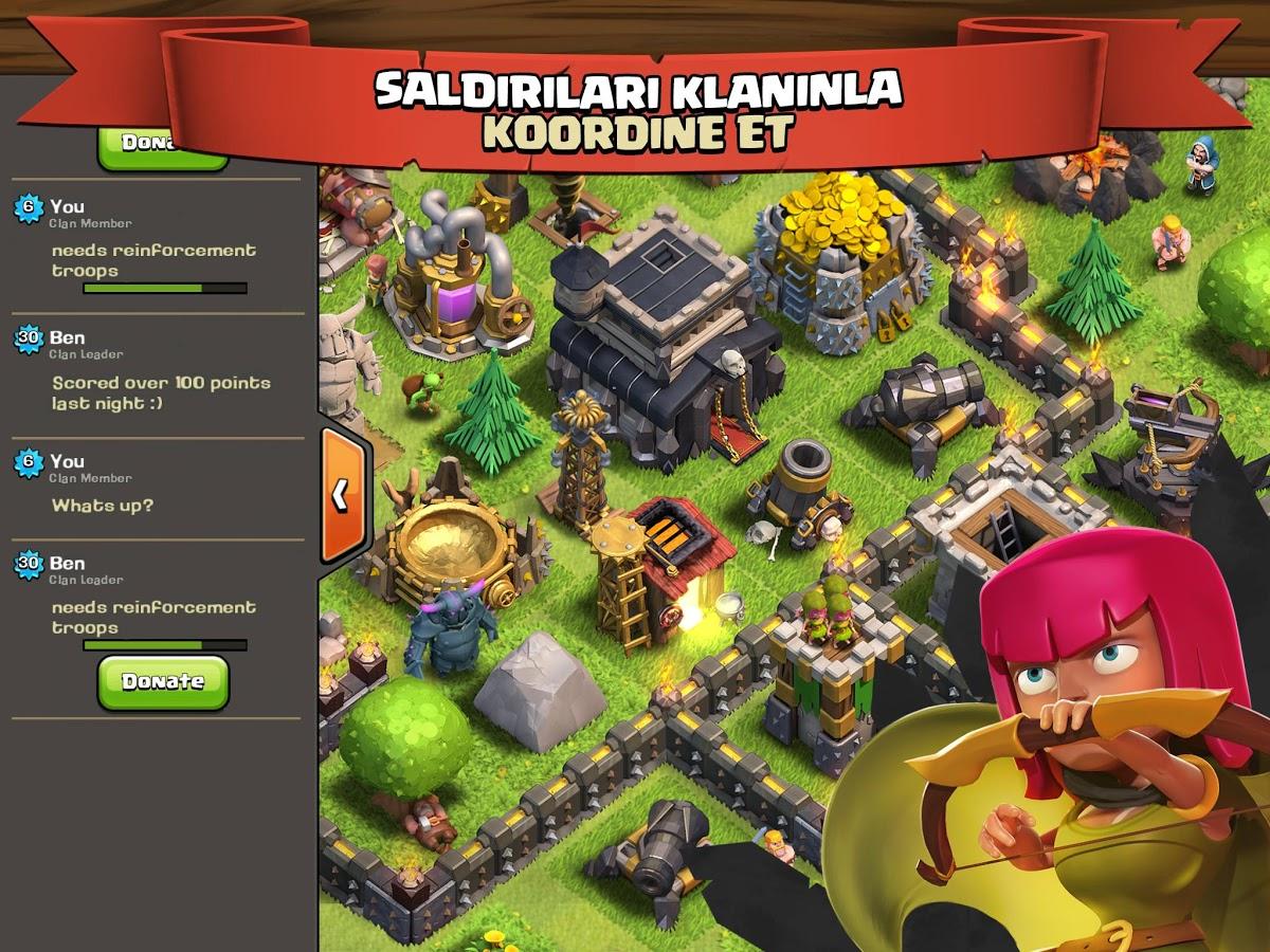 Clash of Clans – Strateji & Savaş Oyunu ve Taktikler