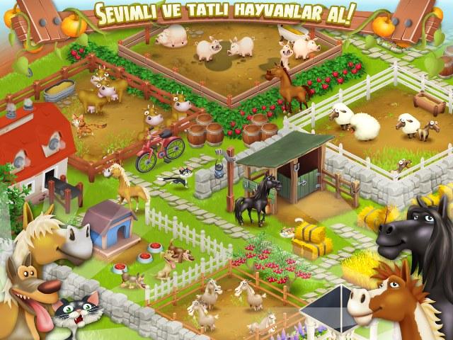 Hay Day – Çiftçilik Oyunu
