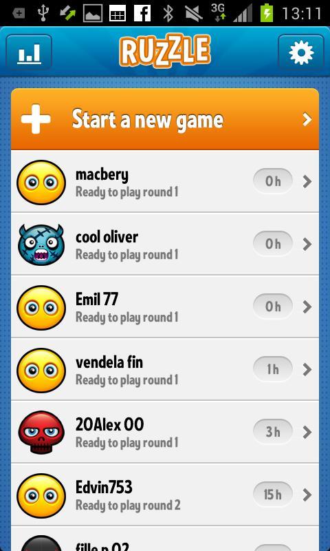 Ruzzle – Android Kelime Bulmaca Oyunu
