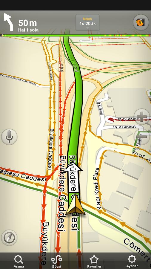 Yandex Navigasyon – Ücretsiz GPS Navigasyon