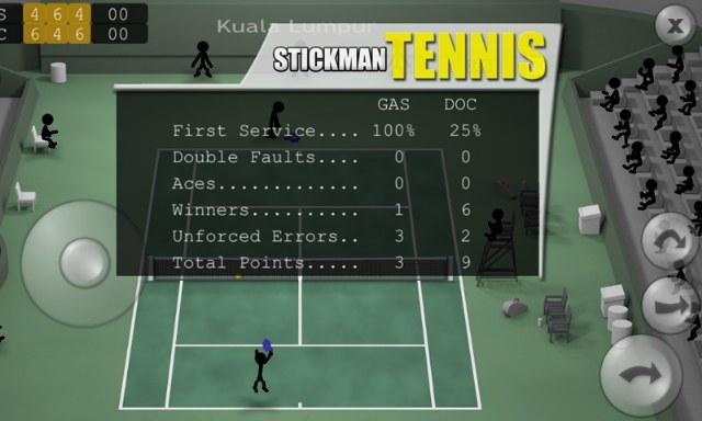 Stickman Tennis – Çöp Adam Tenis Oyunu