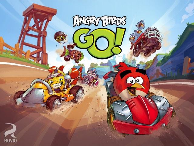 Angry Birds Araba Yarışı Oyunu