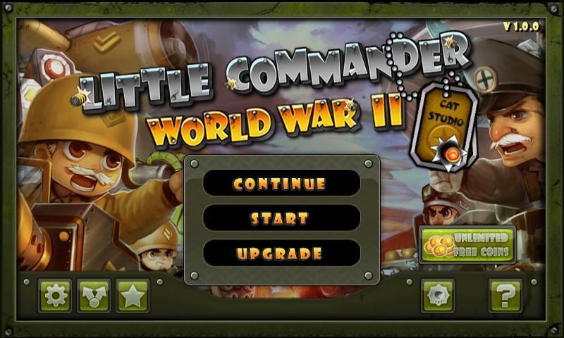 Little Commander WWII – Savaş ve Savunma Oyunu
