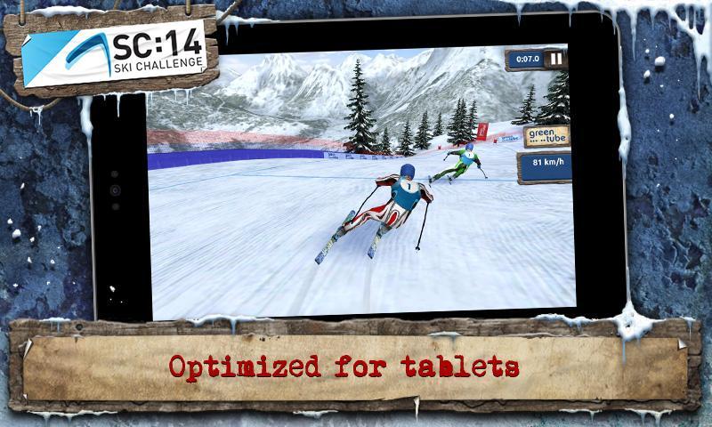 Ski Challenge 14 – Android Kayak Oyunu