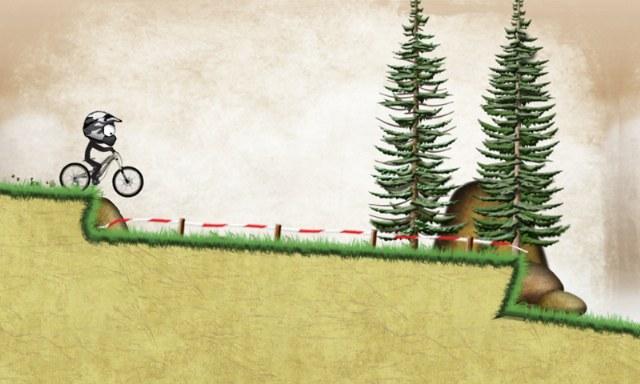 Stickman Downhill – Çöp Adam Bisiklet Sürme Oyunu