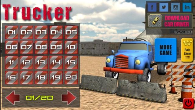 Trucker – Yük Taşıma Kamyon Oyunu