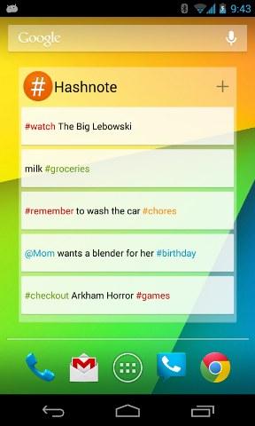 Hashnote – Twitter Tarzı Not Defteri Uygulaması