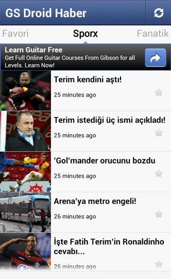 GS Droid Haber (Galatasaray)
