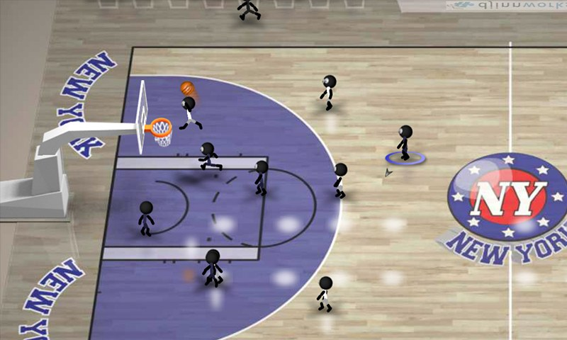 Android Basket Oyunu – Stickman Basketball