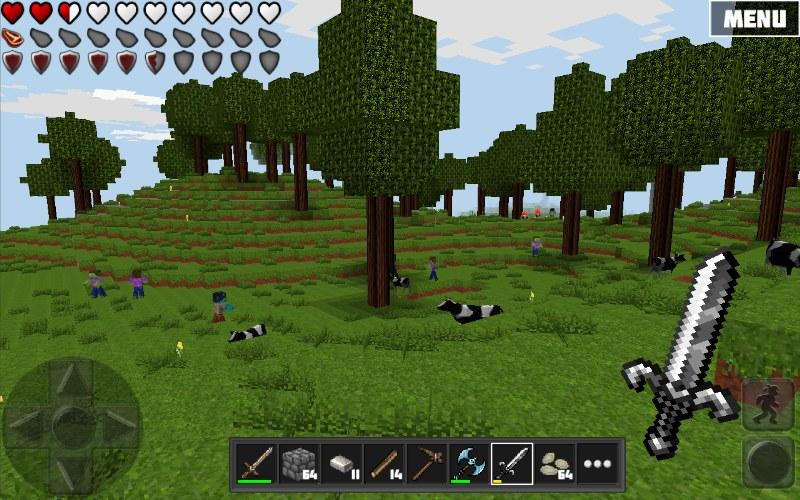 Worldcraft 2 – Minecraft Benzeri Ücretsiz Oyun