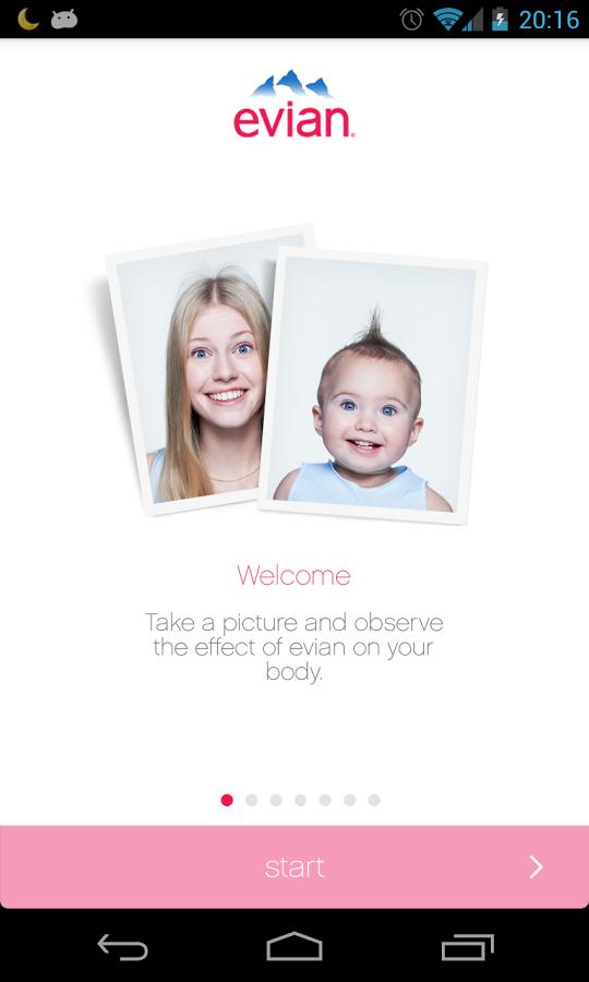 Bebeğim Nasıl Olacak – Evian Baby&Me