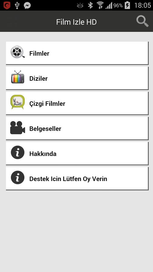 Film İzle HD Android Uygulaması