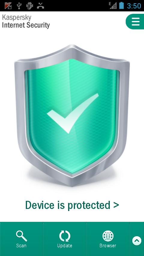 Mobil Antivirüs – Kaspersky Internet Security