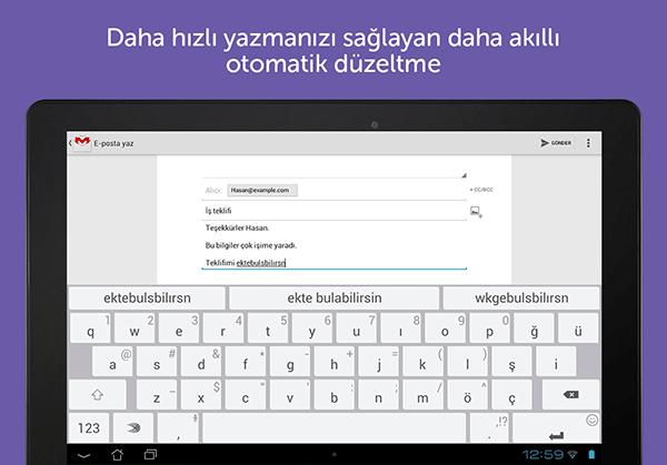 SwiftKey Android Türkçe Klavye Artık Tamamen Ücretsiz