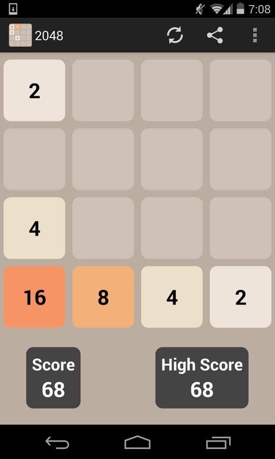 2048 – Sayılarla Zeka Oyunu