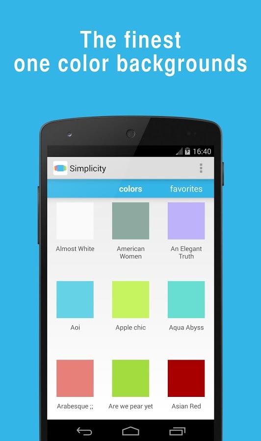 Tek Renk Duvar Kağıdı Yapmak İçin – Simplicity