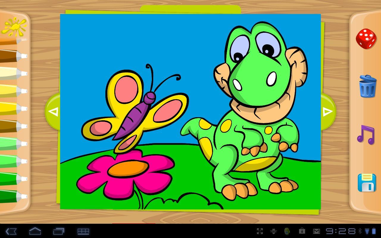 Çocuklar için Boyama Kitabı Oyunu – PicsArt for Kids
