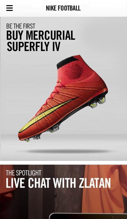 Yeni Nike Ürünleri ve Haberler Uygulaması – Nike Football