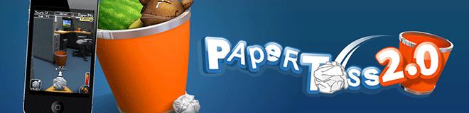 Paper Toss 2 – Çöp Kutusuna Basket Atma Oyunu