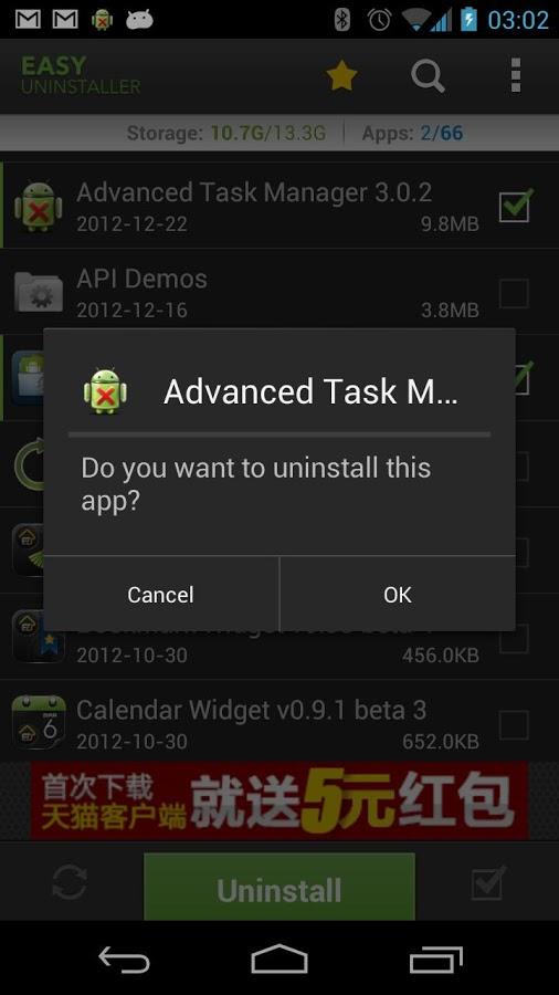 Android Uygulama Kaldırma – Easy Uninstaller