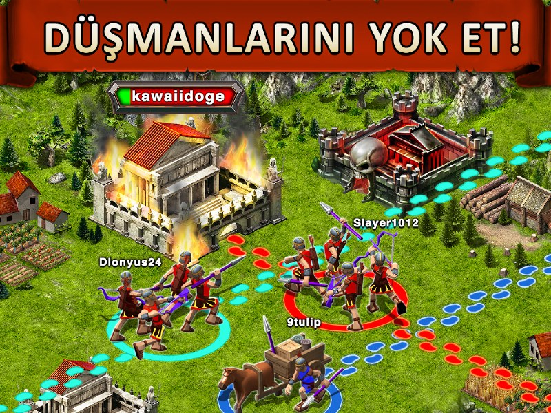Game of War – Fire Age – Clash of Clans Benzeri Oyun