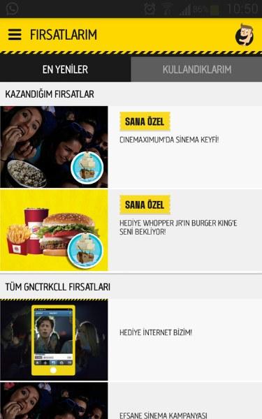 Gnçtrkcll – Turkcell Android Uygulaması