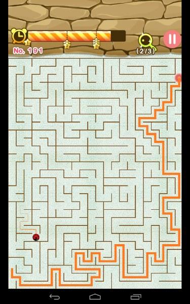 Maze King – Android Labirent Yarış Oyunu