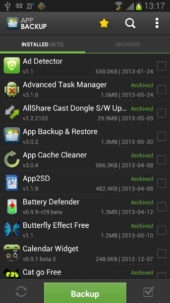 Android Uygulama ve Oyun Yedekleme – App Backup & Restore
