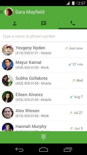 Google Hangouts Dialer ile İnternetten Ücretsiz Telefon Görüşmesi
