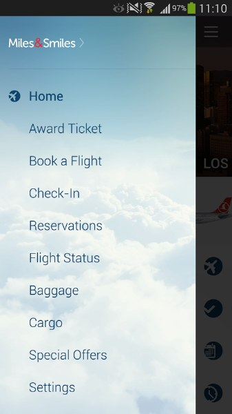 THY Android Uygulaması – Turkish Airlines