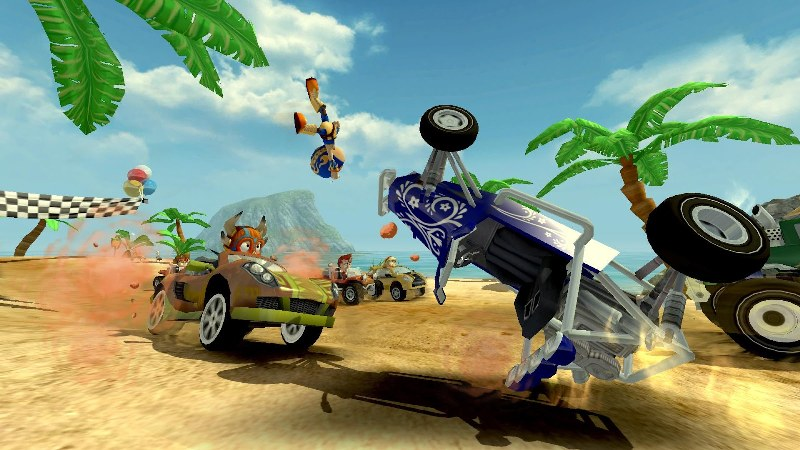 Beach Buggy Racing – Araba Yarışı